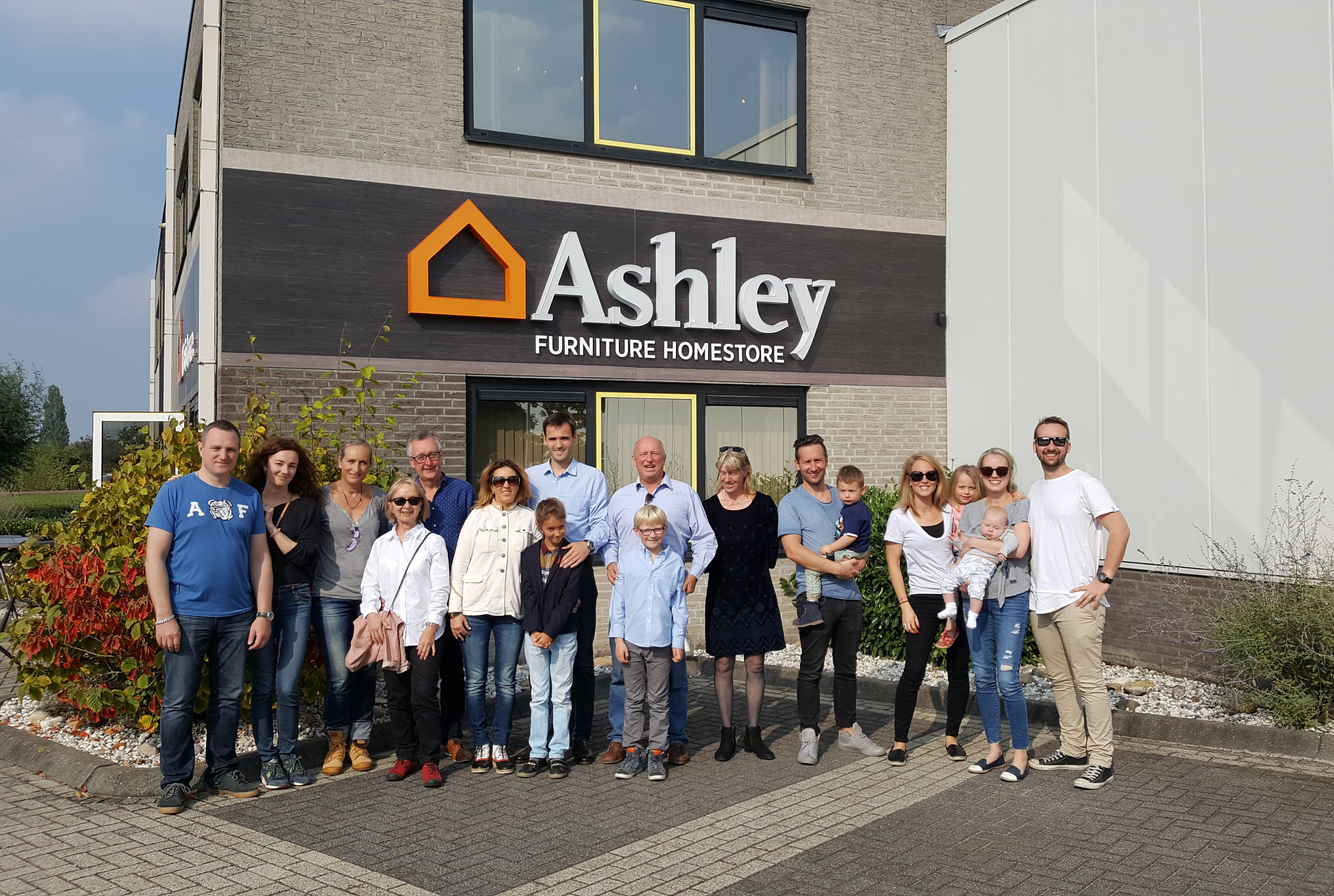 Ashley Homestore Opens First Unit In Western Europe