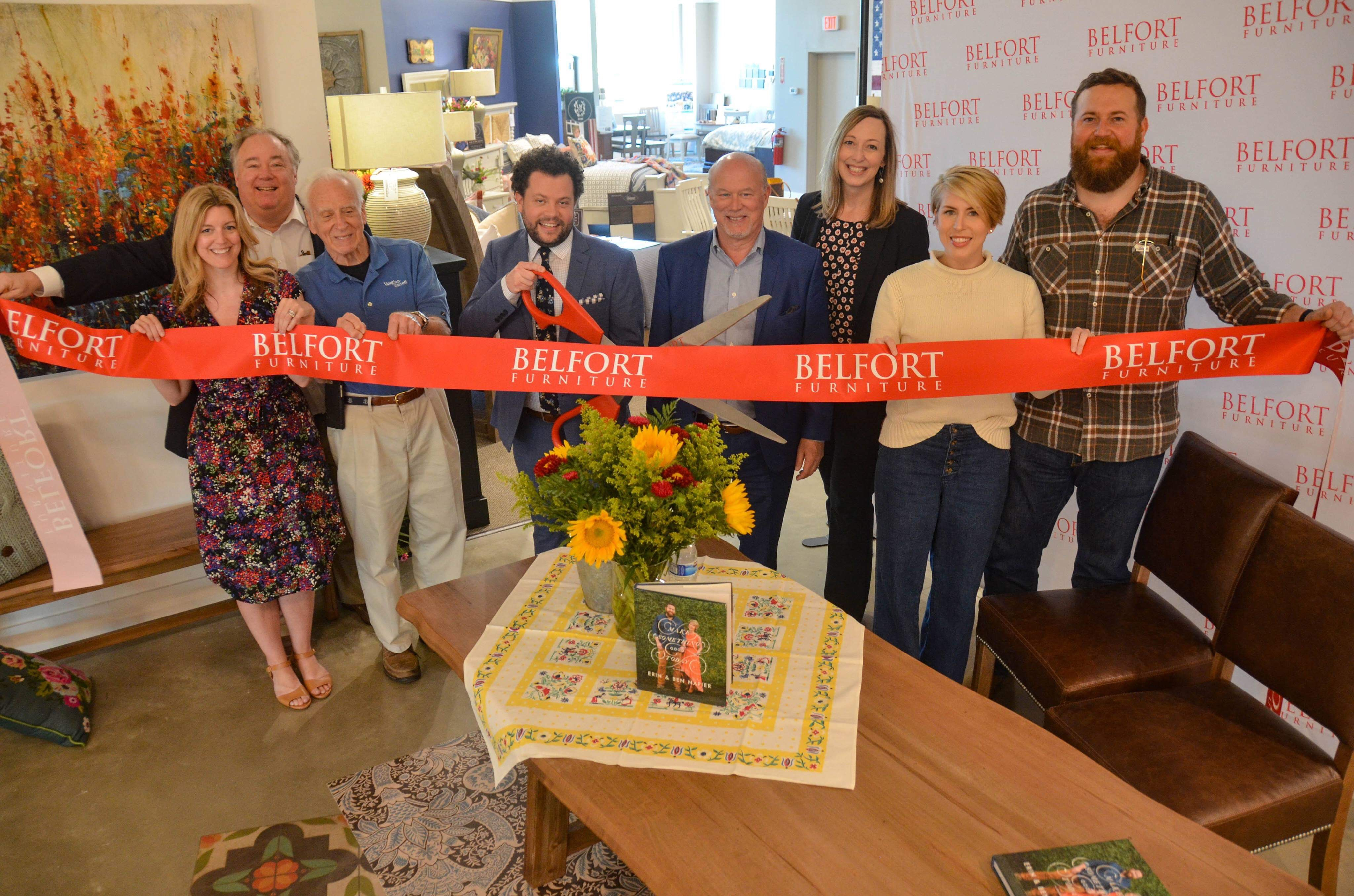 Hgtv Home Town Stars Make Appearance At Belfort Furniture