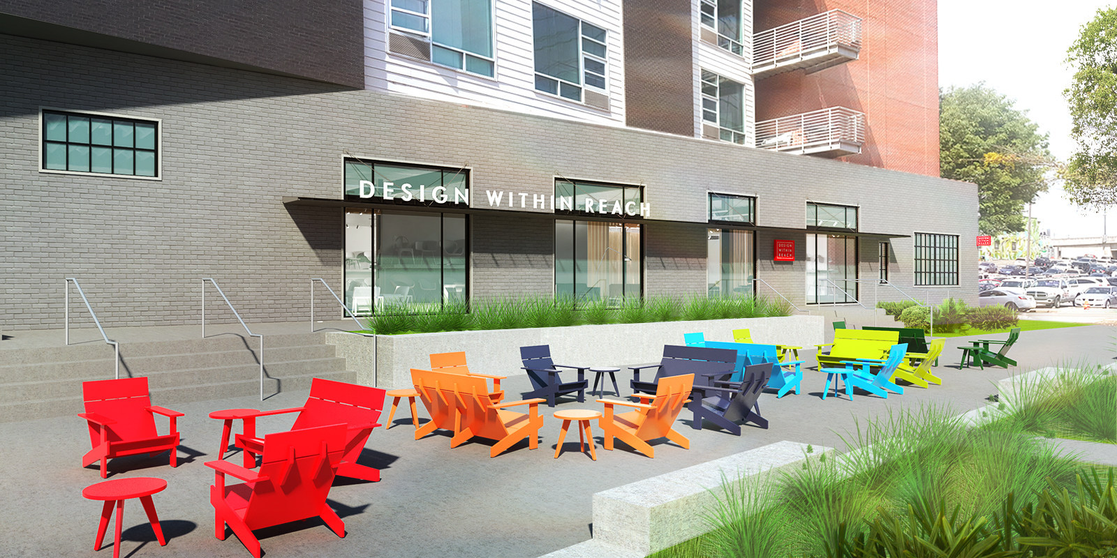 Modern furniture and accessories retailer design within reach dwr has announced the opening of a retail studio in the gulch in nashville tenn