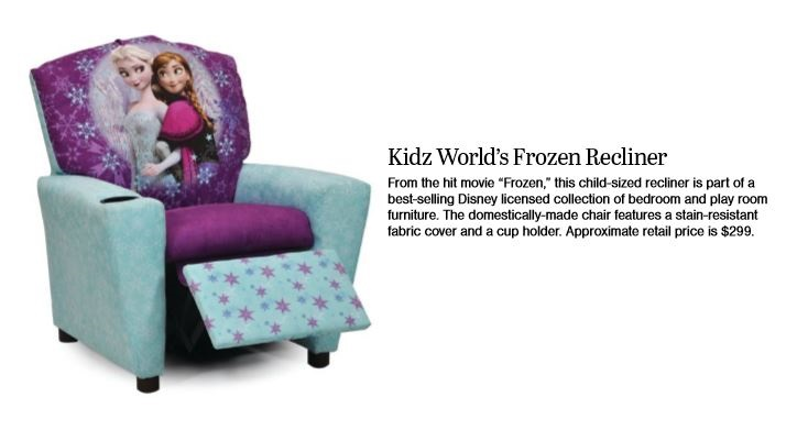 Kid'z World's Frozen Recliner