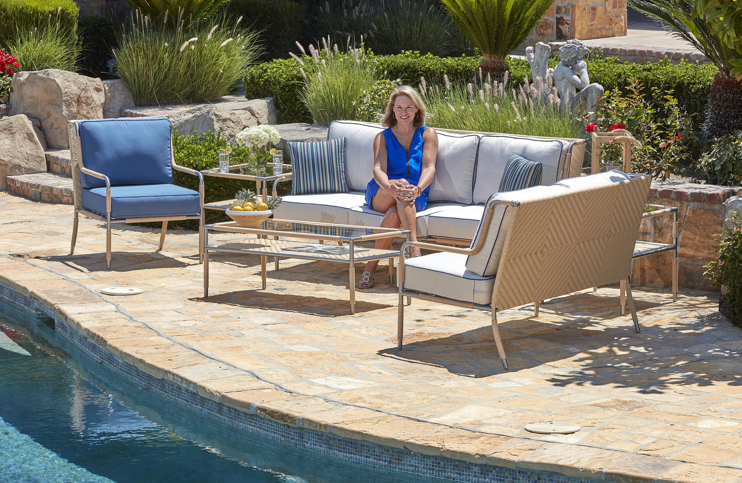 outdoor resource northcape and famed interior designer libby langdon will showcase four new outdoor collections at the casual market chicago sept