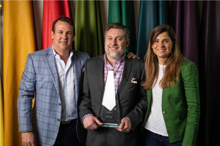 American Leather Names Tom Hall as 2018 Brand Ambassador of the Year