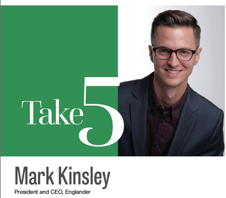 Take 5 : Mark Kinsley