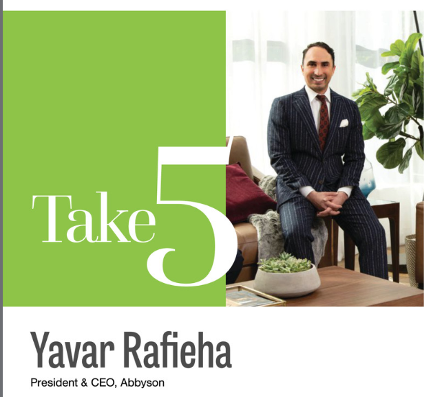 Take 5 Yavar Rafieha